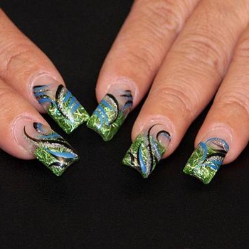 Fotogalerie gelových nehtů